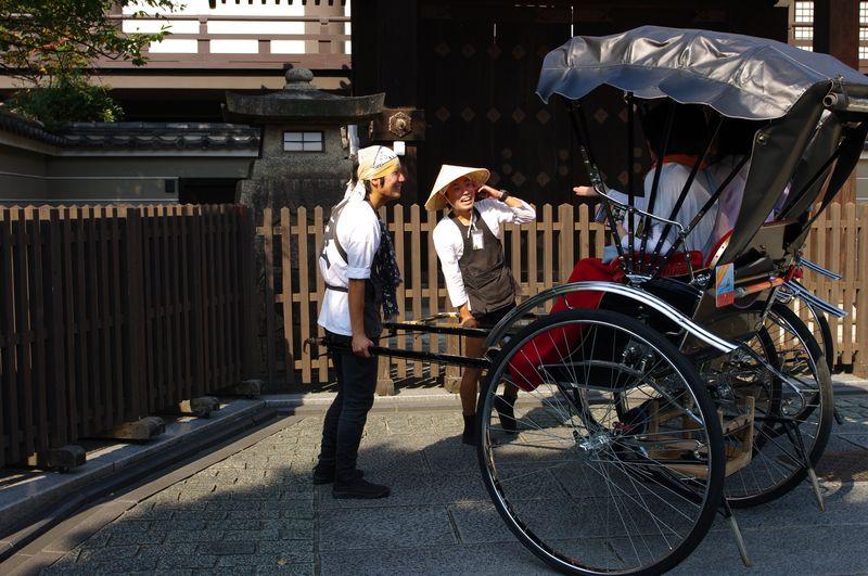Rikscha Fahrer / Riksha drivers, Japan